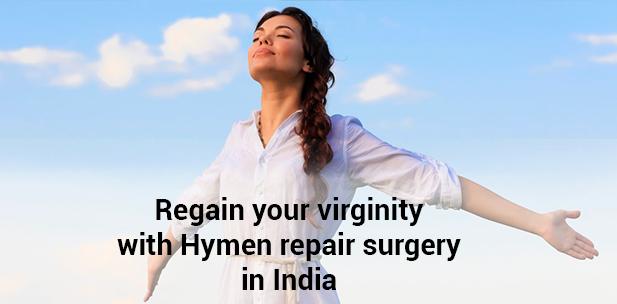 Hymen repair surgery in India