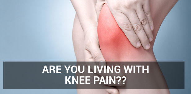 Are you living with Knee Pain