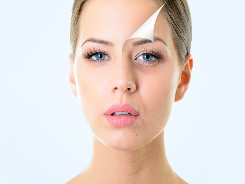 aDVANCE facial treatments to look younger