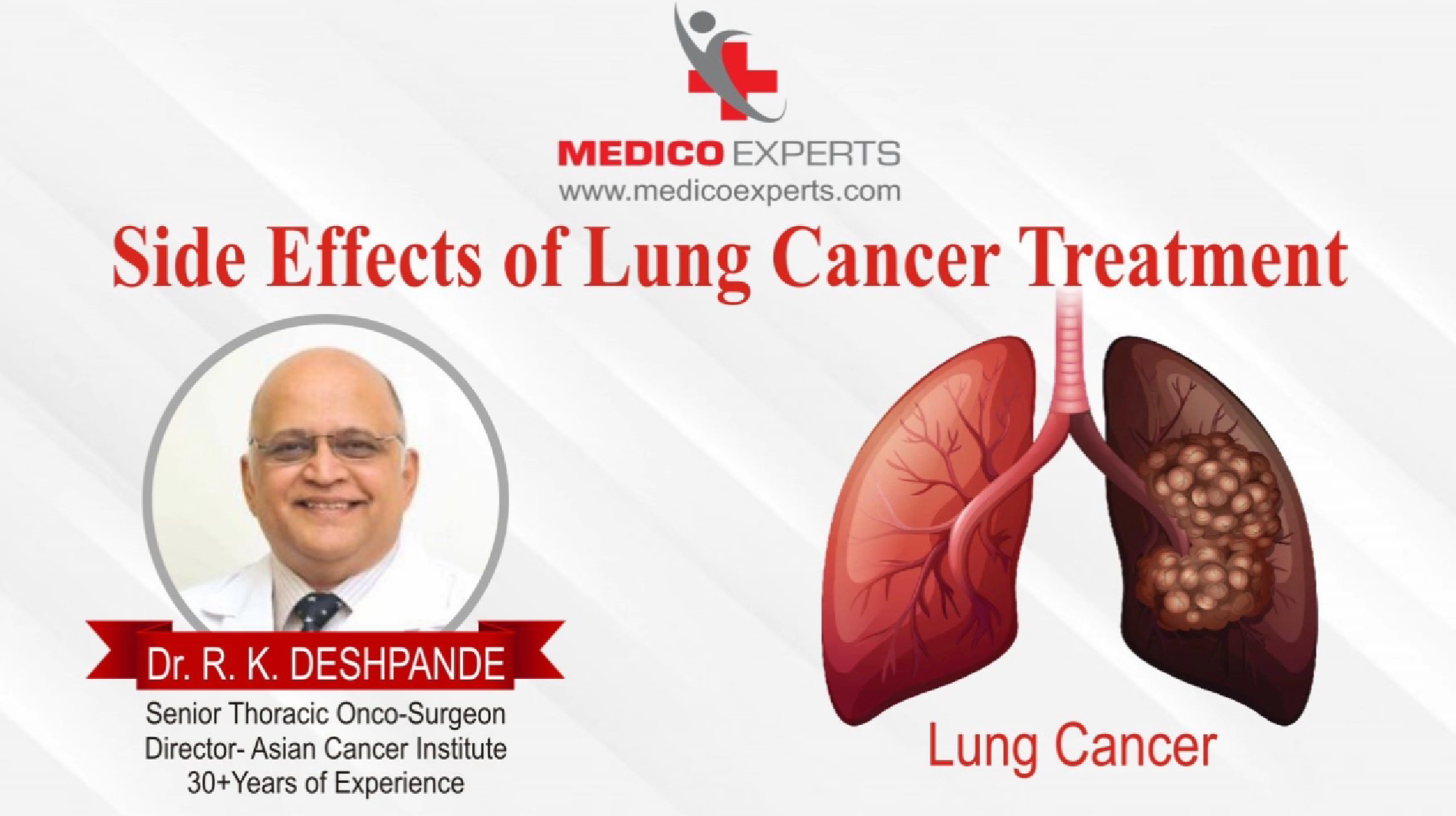 Side Effects of lung cancer