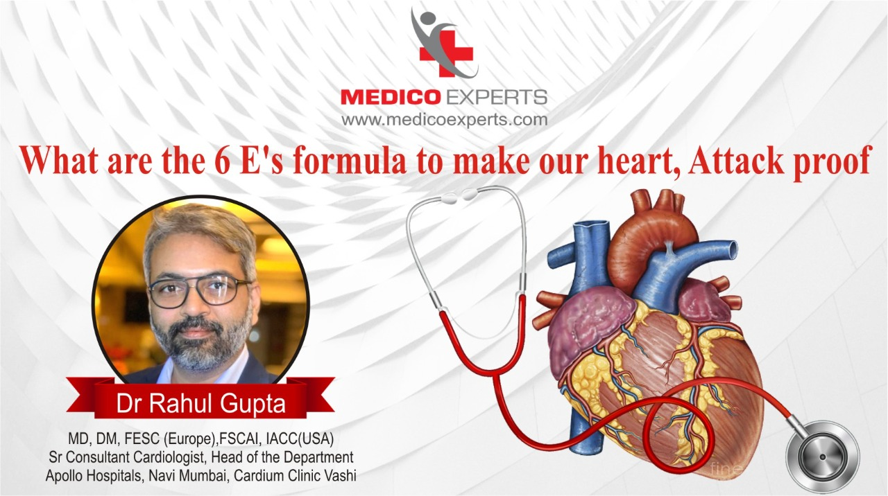 What are the 6 Es Formula to make our heart
